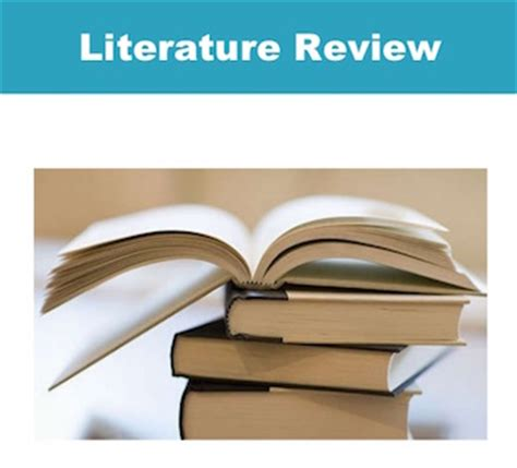 Free literature review templates